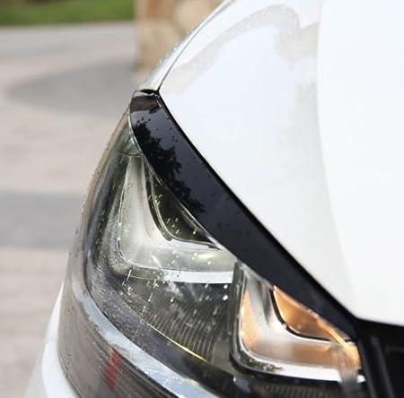 Emblem Trading Böser Blick Scheinwerfer Blende Abs Kunststoff Schwarz Mittelkonsole Armaturenbrett Verkleidung Autozubehör Auto