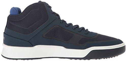 Lacoste Herre Explorateur Spt Mid 117 2 Uformell Sko Mote Sneaker Navy