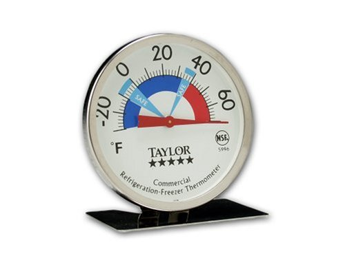 Taylor Precision Products Pro Freezer/Refrigerator Thermometer