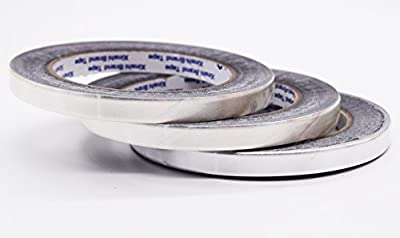 Aluminum Foil Tape- best for HVAC, Ducts, Insulation and Heavy Duty Aluminum Foil Tape Thickness 2.4mil and 6 mil, Kaifa
