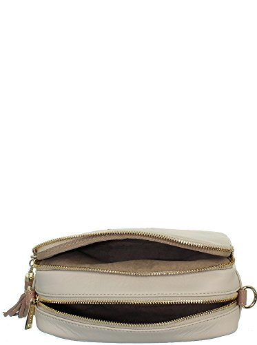 beige Sac Ana bandoulière à Mademoiselle Lancaster EXCqwHn
