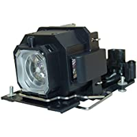 AuraBeam Economy Hitachi DT00781 Projector Replacement Lamp with Housing