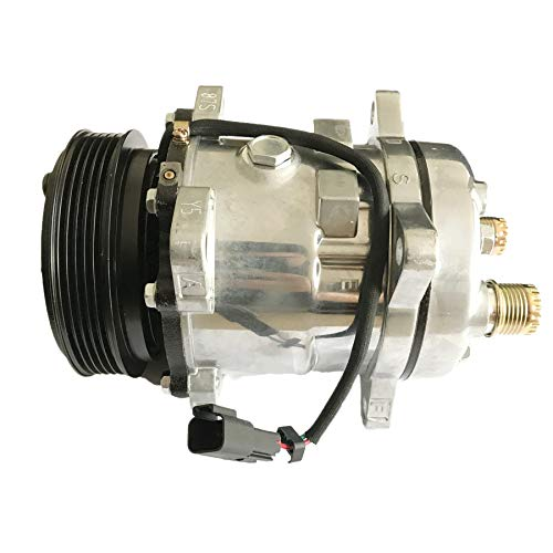 Price comparison product image Air Conditioning Compressor 7023585 7279139 for Bobcat T550 T590 T595 T630 T650 E32 E35 E42 E45 E50 E55