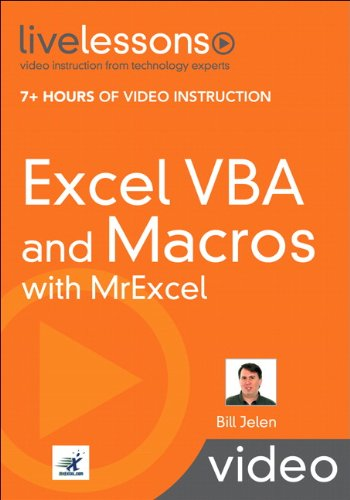 Excel VBA and Macros with MrExcel by Que Publishing