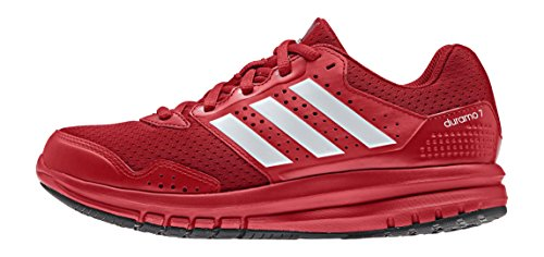 adidas PerformanceDuramo 7 - Zapatillas de Running Niños-Niñas Rojo / Blanco / Rojo (Rojpot / Ftwbla / Rojint)