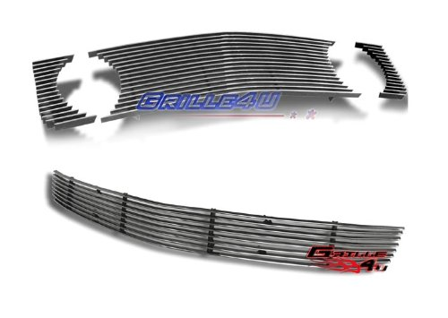 05-09 Ford Mustang GT V8 Billet Grille Grill Combo Insert # F67957A (2008 Mustang Pony Emblem compare prices)