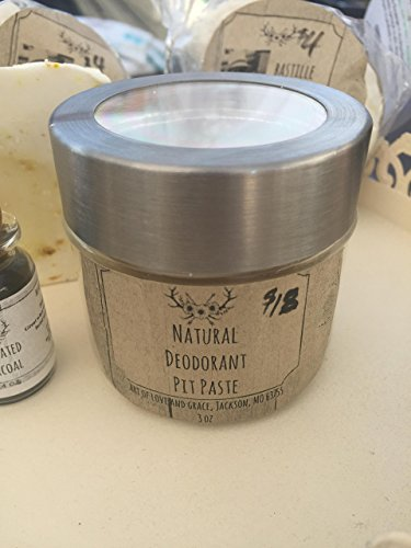 3 oz Lavender Tea Tree Natural Deodorant Pit Paste by Art of Love and Grace