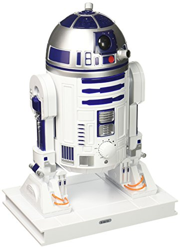 Star Wars 9707 R2D2 Ultrasonic Cool Mist Personal Humidifier, 7.8