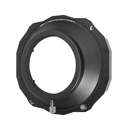 【KANI】 カメラ フィルターホルダー SIGMA 20mm f1.4 DG HSM専用 角型フィルター用   B079S39R4M
