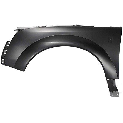 (Fender for Saturn Vue 02-07 LH Primed Plastic Front Left Side)