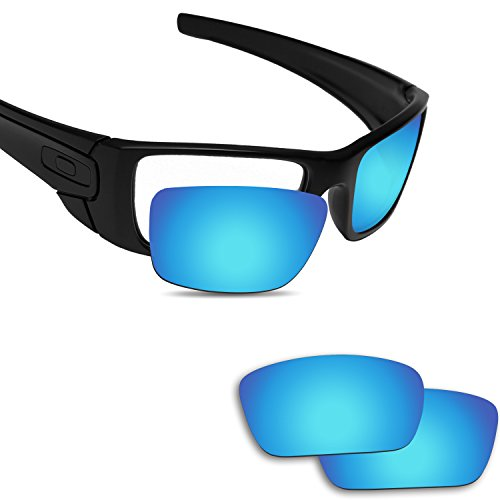 Fiskr Anti-Saltwater Replacement Lenses for Oakley Fuel Cell Sunglasses Ice - Prizm Oakley Lenses Fuel Cell