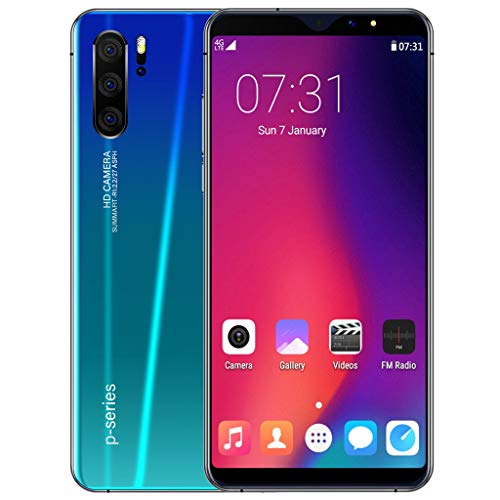 Sodoop P31 Pro Smartphone (2019 New), 6.3 inch Full Screen Unlocked for Android GSM 3G Dual-SIM 1G RAM+16GB ROM Extended Memory to 64G,Eight Core 1600w Camera (Green)