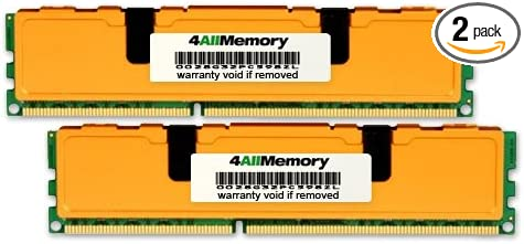 DDR2-533 2x4GB PC2-4200 4AllMemory 8GB Fully Buffered Kit for The SuperMicro SuperServer 7045A-3