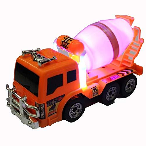 DishyKooker 2019Nuovi Camion betoniere Project Team 6Wheel agitatore Camion betoniere ingegneria Vettore Veicolo elettronico Toys Show