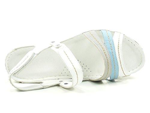 Sandalettes Multi 032023 02 navy Femmes 02 couleur 882°jeans 882°jeans navy Blanc 7qwIdaI