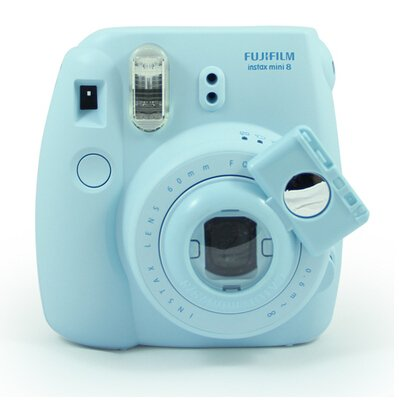 [Fujifilm Instax Mini 7s 8 8+ 9 Selfie Lens] -- CAIUL Camera Style Instax Close Up Lens with Self-portrait Mirror for Fujifilm Instax Mini 8 8+ 9 7s Camera and - Lens Polaroid