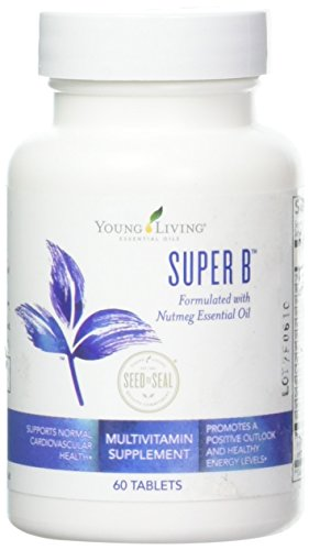 Super B Tablets 60 ct by Young Living Essential Oils Oil 60 Tablets