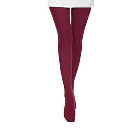 964d4108ff239 Amazon.com: Women Autumn Sexy Tube Sheer Opaque Tights Candy Color ...