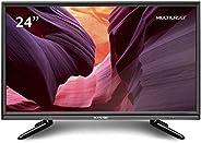 Tela Multilaser 24 Pol. HD Entrada HDMI Sem Conversor Digital - TL013