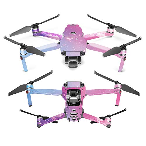 MightySkins Skin for DJI Mavic 2 Pro or Zoom - Pink Diamond | Protective, Durable, and Unique Vinyl Decal wrap Cover | Easy to Apply, Remove, and Change Styles | Made in The USA