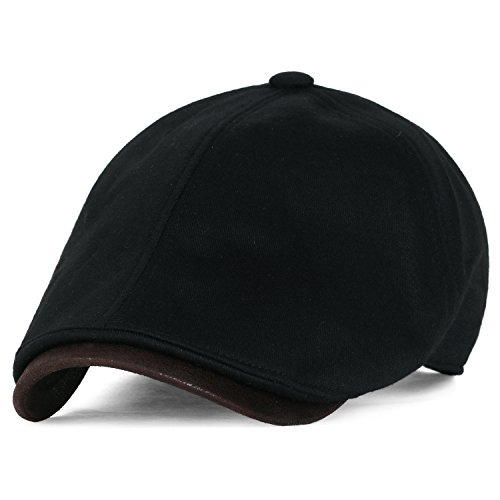 437f9c5c029 ililily Soft Cotton Jersey Large Size Newsboy Hat Vintage Hunting Flat Golf  Cap - Buy Online in UAE.