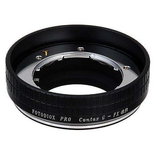 Fotodiox Pro Lens Mount Adapter - Contax G SLR Lens to Fujifilm X-Series Mirrorless Camera Body [並行輸入品]   B075SFWS3V