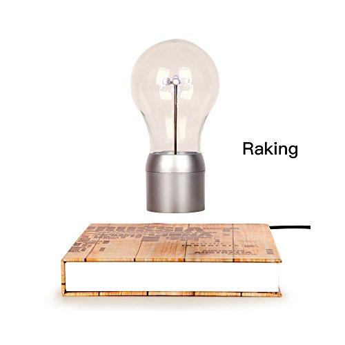 Raking Upmarket Magical Levitating LED Light Bulb /Table Lamp /Night Light/Desktop Decoration with Magnetic Levitating Floating Technology, to Decorate Office, Living Room, Studio