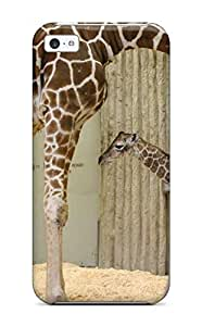 Excellent Iphone 5c Case Tpu Cover Back Skin Protector Giraffe For Android