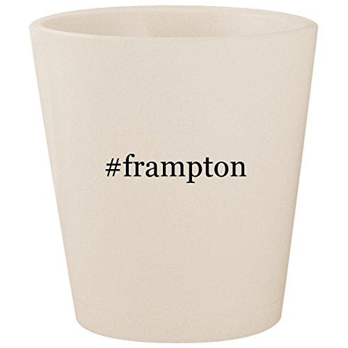 (#frampton - White Hashtag Ceramic 1.5oz Shot Glass)