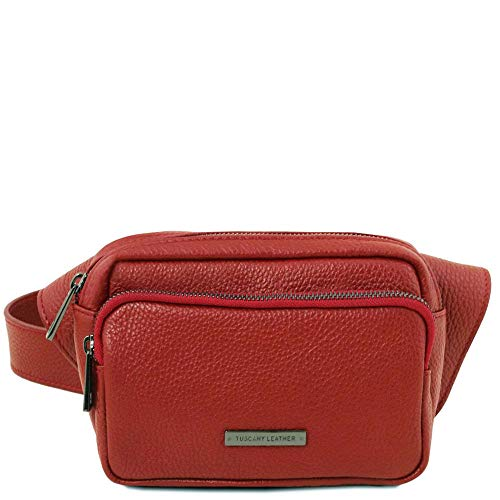 Size Clutch One Leather Red Tl141700 Women's Tuscany CnBwYqt