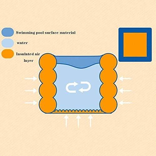 ポータブル環境保護ポリ塩化ビニールインフレータブルバスタブラウンドプール子供ノンスリッププール肥厚高めます (Color : A)