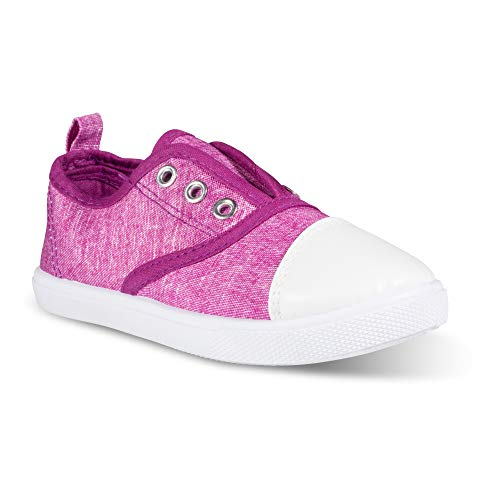 Chillipop Slip-On Laceless Fashion Sneakers Girls, Boys, Toddlers & ()