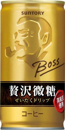 サントリー コーヒー ボス 贅沢微糖 190g×30本