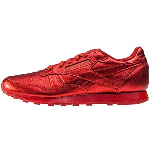 Reebok Cl Face Fashion - Zapatillas Mujer Rojo