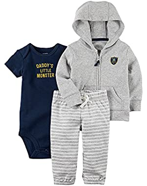 Carter's Baby Boys' 3-Piece Hoodie Set