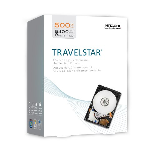 HGST Travelstar 2.5-Inch 500GB 5400RPM SATA 3.0Gbps 8MB Cach