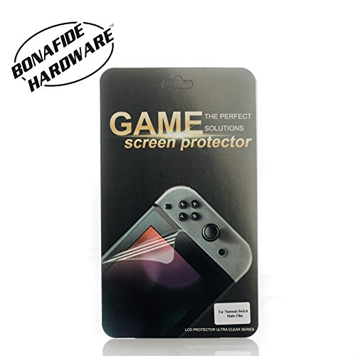 Bonafide HardwareTM - Screen Protector for Nintendo