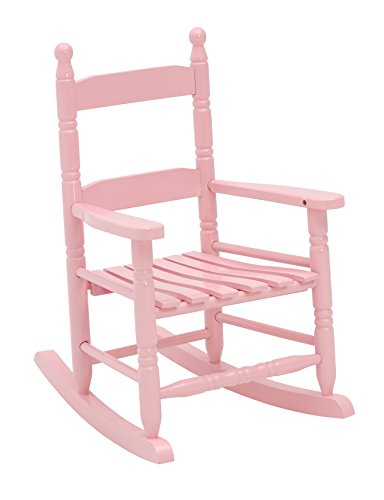 Jack Post KN-10P Knollwood Classic Child's Porch Rocker, Pink -
