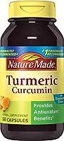 Nature Made Turmeric Curcumin 500 mg. Capsules (Antioxidant) 60 Ct