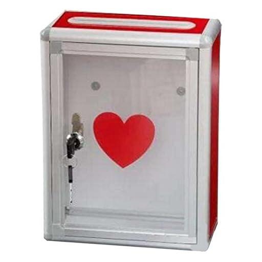 STARDUST ボランティア 寄付 募金 箱 かわいい ハート 貯金 BOX SD-KIHUBOX