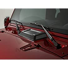 Jeep Wrangler Black Hood Scoop