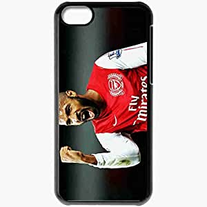 Personalized iPhone 5C Cell phone Case/Cover Skin Arsenal Henry Fist Black