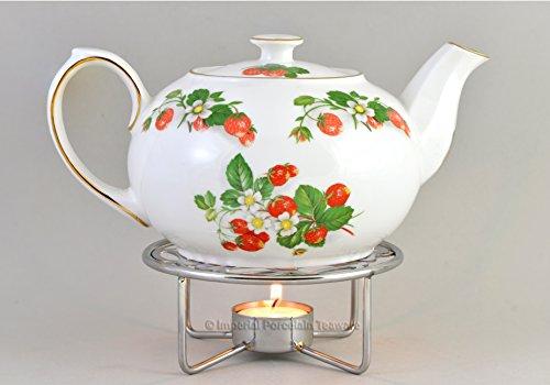 Teapot Warmer - Chrome Plated