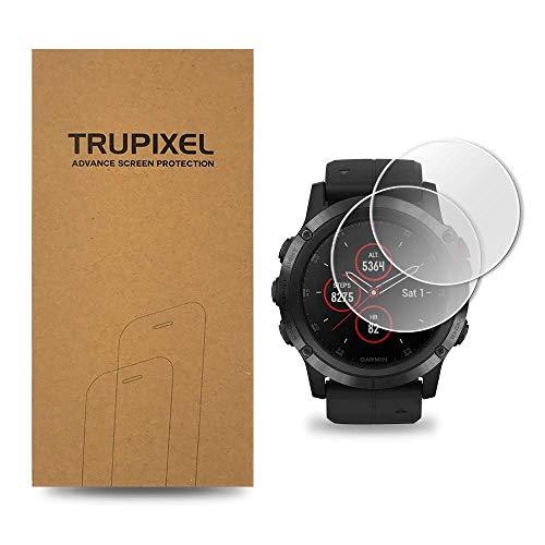 4XG TruPixel Nano Screen Protector Compatible with Garmin Fenix 5X Plus - Clear (2-Pack)