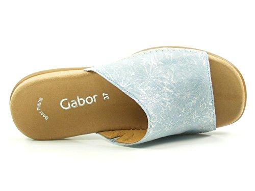Gabor tiras azul 83 mujer para de sandalias 705 r6rwYq7O