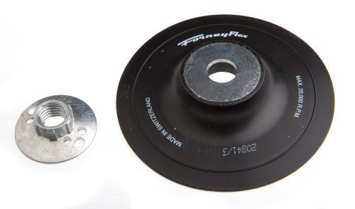 (Forney 72322 Backing Pad with 5/8-Inch-11 Spindle Nut, 5-Inch by Forney)