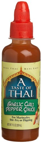 (A Taste Of Thai Garlic Chili Pepper Sauce, 7 Ounce Jars (Pack of 12))