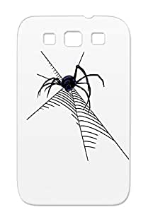 TPU Insects Animals Nature Black Widow Navy Case Cover For Sumsang Galaxy S3