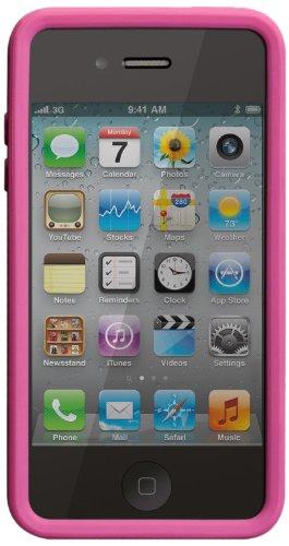 Case-Mate CM019245 Snap Case mit Stand für Apple iPhone 4S/4 pink/weiß