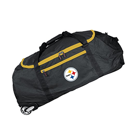 - NFL Pittsburgh Steelers Crusader Collapsible Duffel, 36-inches